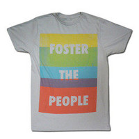 Foster The People Merchandise Store  - Foster the People  Colorblock T-shirt