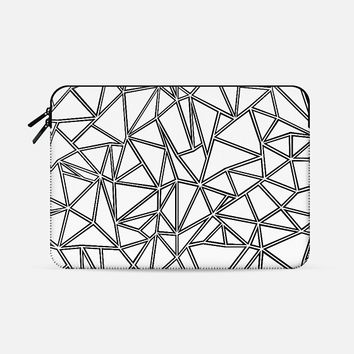 """Abstraction Outlines 2 Macbook Macbook Pro 15"""" sleeve by Project M   Casetify"""