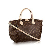 Louis Vuitton Monogram Canvas Turenne GM Tote Bag Handbag Article: M48815 Made in France