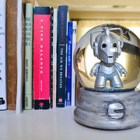 Doctor Who Cyberman snow globe