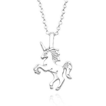 ON SALE - A Magical Life Unicorn Necklace