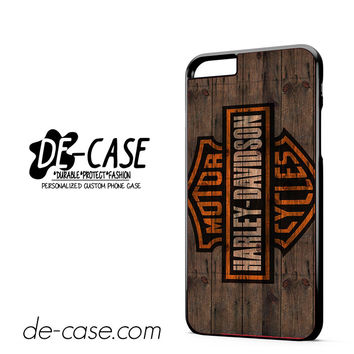 Harley Davidson Motor Cycles Wood Logo DEAL-5047 Apple Phonecase Cover For Iphone 6/ 6S Plus