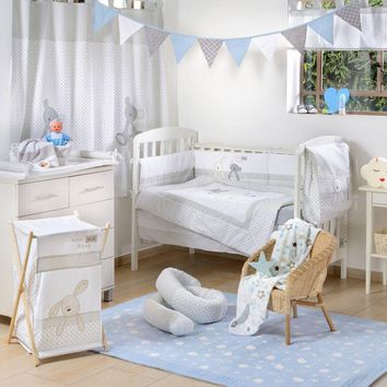 Bear and Friends Crib Bedding Set