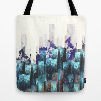 Cold cities Tote Bag by HappyMelvin