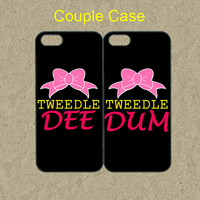 iphone 5c case,iphone 5c cases,iphone 5s case,cool iphone 5s case,cute iphone 5c case,iphone 5 case--Tweedle DEE Tweedle DUM,in plastic.