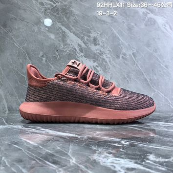 HCXX A739 Adidas Tubular Shadow PK Simmplified edition Yeezy Running Shoes Orange Red