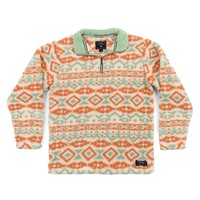 Appalachian Peak Sherpa Pullover in Oatmeal and Sage by Southern Marsh - FINAL SALE