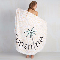 Tassels round beach towel Hippie Tapestry Palm beach sunshine Beach Throw Roundie Towel Yoga Mat Serviette Bohemian Featur