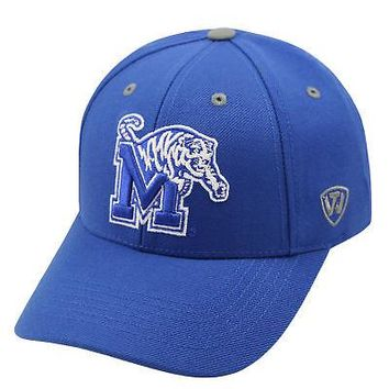 Licensed Memphis Tigers NCAA Triple Threat Adjustable Wool Blend Hat Cap TOW 420660 KO_19_1