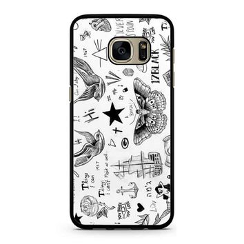 Harry Styles Tattoos Samsung Galaxy S7 Case