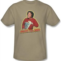 Mork and Mindy Mork From Ork T-Shirt | Vintage TV Show T-Shirt