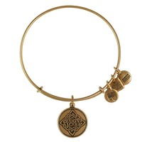 Alex and Ani Celtic Knot Charm Bangle
