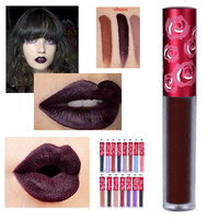 15 colors Limecrime  Makeup Lip Gloss Matte Lipstick With Retail Waterproof Velvet Liquid Lips Nude Cashmere Cosmetics
