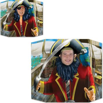 Pirate Photo Prop - 1 Side Male Case Pack 6