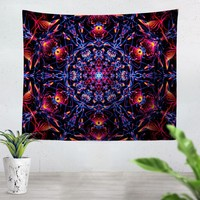 Abstract Design Red Tapestry