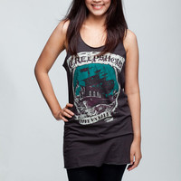 The Creepshow Shirt The Dark Horror Psychobilly Women Tank Top Black Shirts Tunic Top Vest Singlet Women T-Shirt Size L