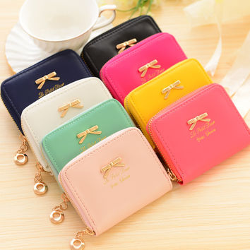Stylish Creative Cute Korean Butterfly Lovely Fashion Wallet = 4877833860