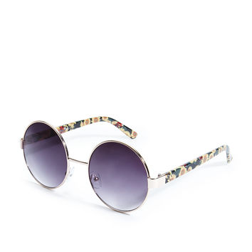 Round Sunflower Sunglasses