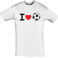 I love soccer,soccer shirt,birthday gift for dad,dad shirt,funny dad shirt,awsome dad shirt,daddy shirt,fathers gift,gift for brother,unisex