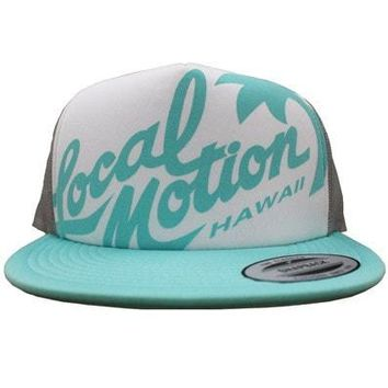 "Local Motion Hawaii ""Redux"" Trucker Hat, 11 Different Colors"