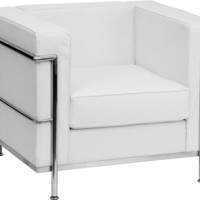 Regal Series Contemporary Chair with Encasing Frame