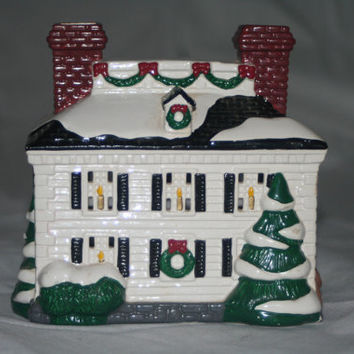 Christmas Village House,Ceramic House