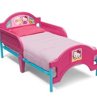 Delta Children Plasitc Toddler Bed, Hello Kitty