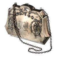 Purse with Chain 1880s::Vintage Jewelry::Curiosities::Alexis Bittar