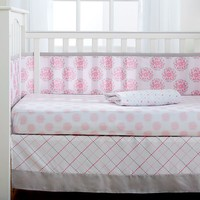 Breathable Baby Dahlia 4-pc. Crib Bedding Set