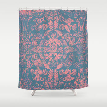 Psychedelic Barrier Reef Shower Curtain by Voodoo