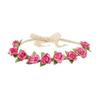PS from Aero  Kids' Floral Crochet Crown
