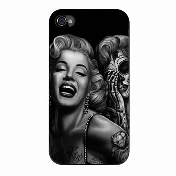Marilyn Monroe Day Of The Dead iPhone 4/4s Case