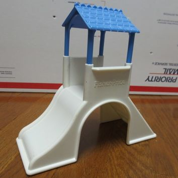 Vintage Fisher Price Dream Doll House Playhouse Slide Toy Collectible
