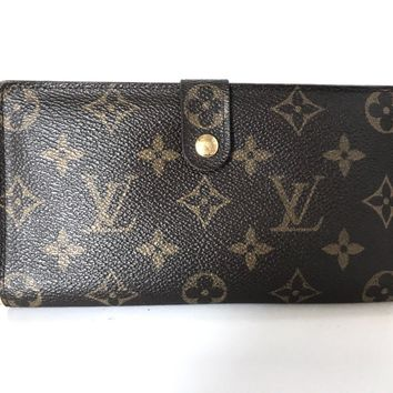 Auth LOUIS VUITTON Continental Clutch T61217 Monogram SD0999 Long Wallet