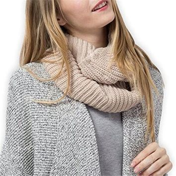 Women's  Men's Infinity Simplicity Thick Neck WarmerScarf
