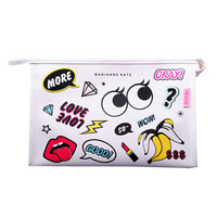 Creative Makeup Bags Cosmetic Bag Storage Bag Cosmetic Pouches, E