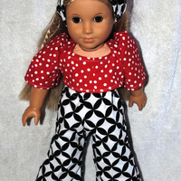 PDF Doll Clothing Pattern 18 inch Doll Easy Directions