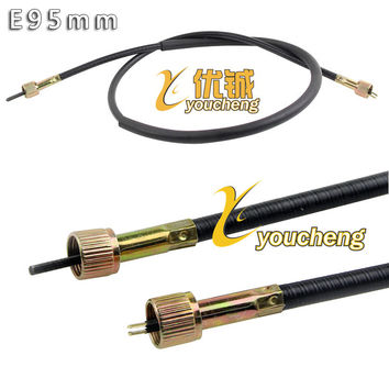 Moped counter Chinese Scooter Speedometer Cable Moped Motorcycle Parts Electric Scooter Cable LCX-E