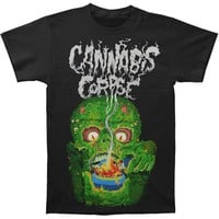 Cannabis Corpse Men's  Bowl Of Fire T-shirt Black