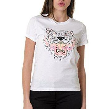 Kenzo Women's White Tiger T-shirt