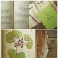 The Little Prince Antoine De Saint Exupery 1943 / 1st First Edition / Hardcover DJ / Illustrated book Le Petit Prince
