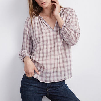 TARO LUREX PLAID