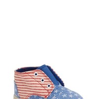 Girl's TOMS 'Paseo Tiny - Stars and Stripes' Mid Boot,