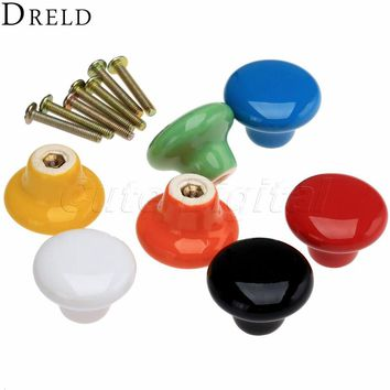 Kitchen Handle Furniture Knobs Cabinet Knobs and Handles Ceramic Drawer Knob Pulls Closet Cupboard Pull Handle Furniture Fitting