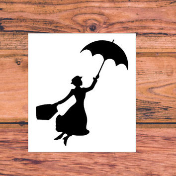 Mary Poppins Bert Decal | Disney Mary Poppins Preppy Decal | Disney Character Decal | Mary Poppins and Bert Decal  | 356