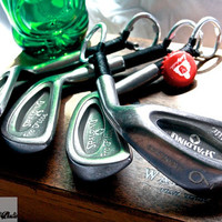4 Golf Club Bottle Openers - Spalding 'Top Flite' Irons - Groomsmen Gifts