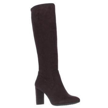 Nine West Kellan Knee-High Boots, Dark Brown, 5 US
