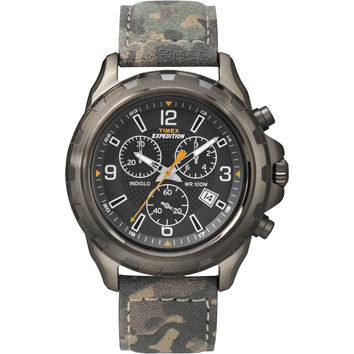 Timex Expedition Rugged Chronograph Watch - Camo-Brown