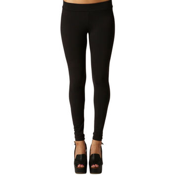 Matty M Ladies' Legging–Black