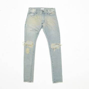 """Rhamone"" Skinny Lightwash Jeans 